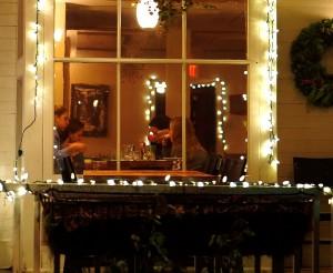 Inside Kingsley Tavern in Kent, CT